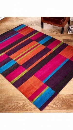 Multi-Coloured Rugs